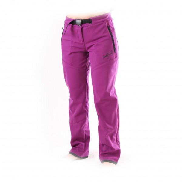 Kalhoty dámské Northfinder NO-4001 fial+černý zip