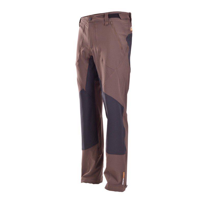 NO-3138OR pánske nohavice MARC hnědé